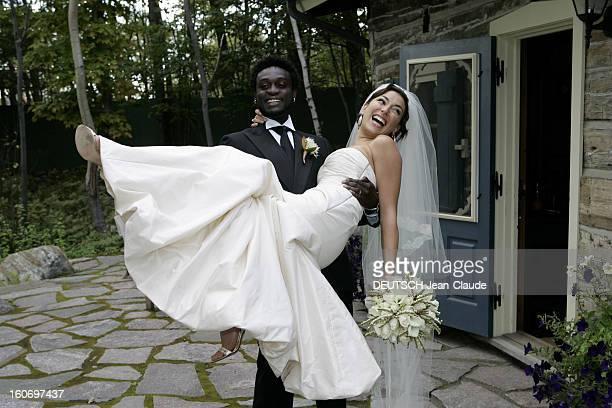 The Wedding Of Corneille In Canada Mariage de CORNEILLE avec Sofia DE MEDEIROS à l'hôtel Quintessence à MONTTREMBLANT dans les Laurentides attitude...