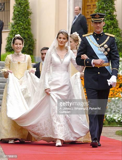 The Wedding Of Crown Prince Felipe Of Spain Letizia Ortiz Rocasolano In Madrid