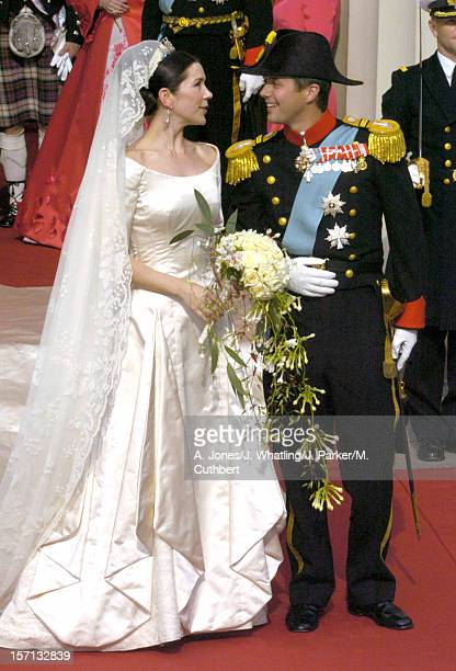 The Wedding Of Crown Prince Frederik Mary Donaldson At The Vor Frue Kirke Cathedral