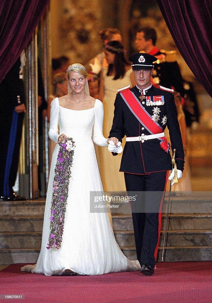 The Wedding Of Crown Prince Haakon Of Norway & Mette-Marit : ニュース写真