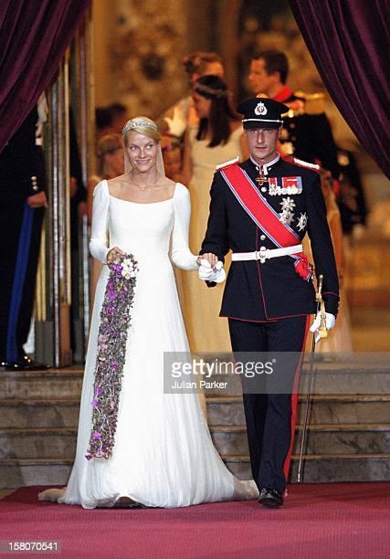 The Wedding Of Crown Prince Haakon Of Norway MetteMarit In Oslo