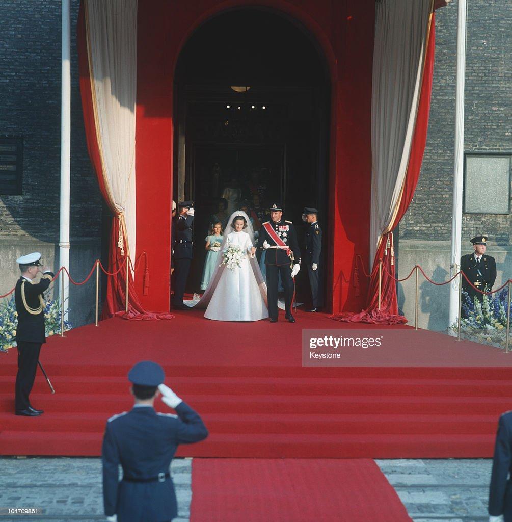 Wedding Of Crown Prince Harald : News Photo