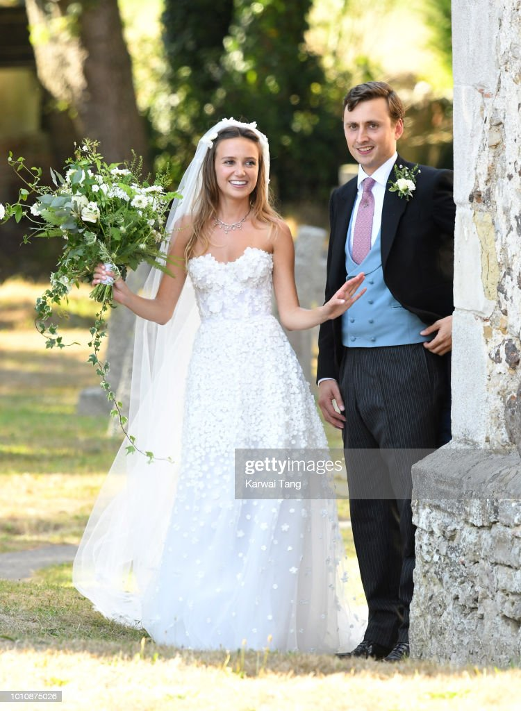 Charlie Van Straubenzee Wedding : News Photo