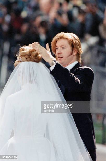 The Wedding of David ArmstrongJones Viscount Linley to Serena Stanhope at St Margaret's Church Westminster Pictured hair stylist Nicky Clarke...