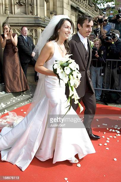 The Wedding Of Gary Neville Emma Hadfield At The Manchester Cathedral In ManchesterPictture Uk Press