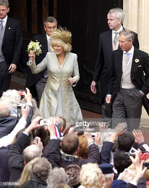 The Wedding Of Hrh The Prince Of Wales Mrs Camilla Parker Bowles At St George'S Chapel Windsor