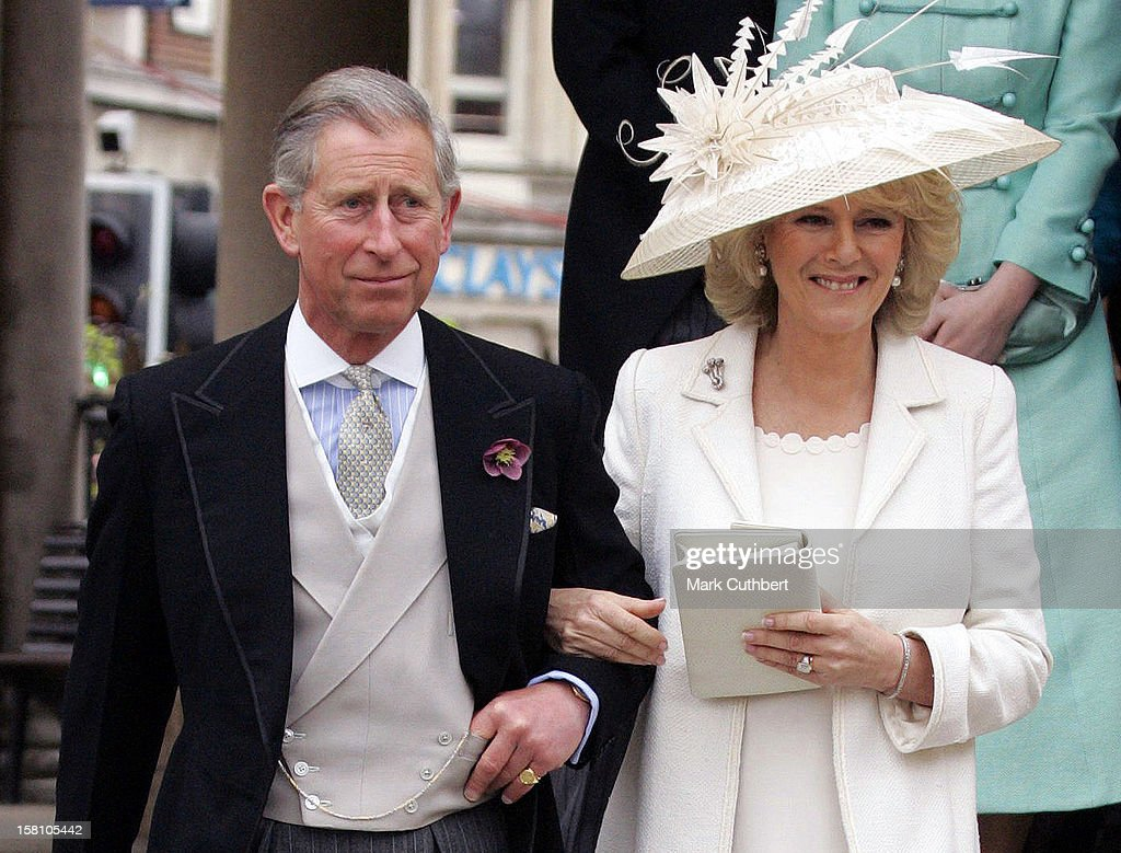 The Wedding Of The Prince Of Wales & Camilla Parker Bowles : ニュース写真