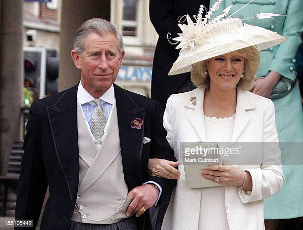 The Wedding Of Hrh The Prince Of Wales Mrs Camilla Parker Bowles At The Guildhall Windsor