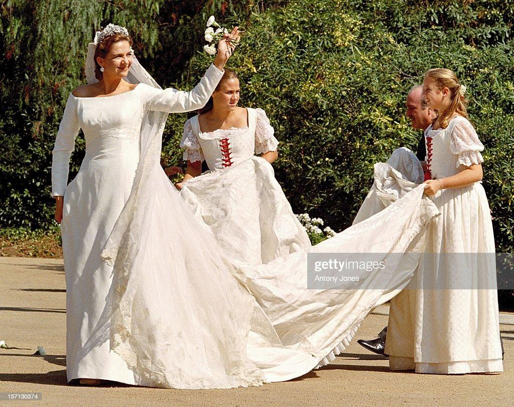 The Wedding Of Infanta Cristina Spain And Inaki Urdangarin At Barcelona Cathedral