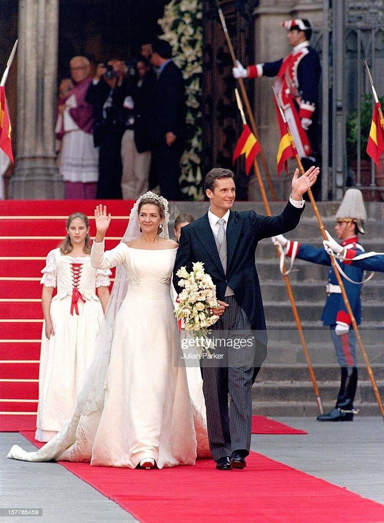 Infanta Cristina Of Spain Royal Wedding : News Photo