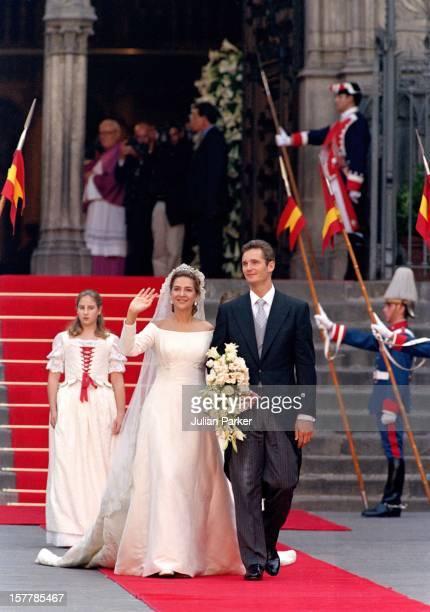 The Wedding Of Infanta Cristina Of Spain And Inaki Urdangarin At Barcelona Cathedral