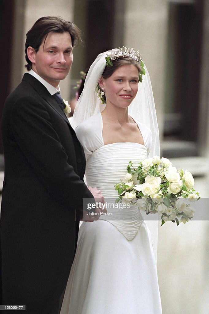 Lady Sarah Armstrong Jones And Daniel Chatto Wedding : News Photo