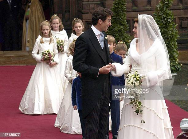 The Wedding Of Lady Tamara Katherine Grosvenor Edward Van Cutsem At Chester Cathedral