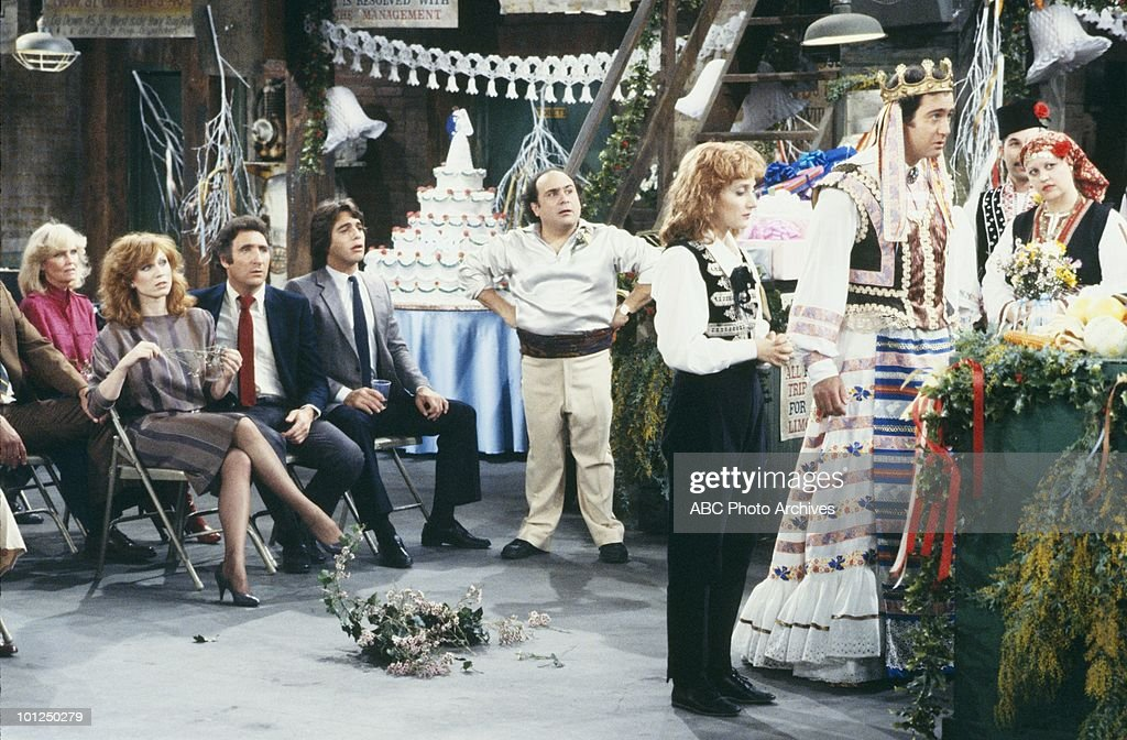 TAXI - 'The Wedding of Latka and Simka' which aired on March 25, 1982. (Photo by ABC Photo Archives/ABC via Getty Images) DANZA