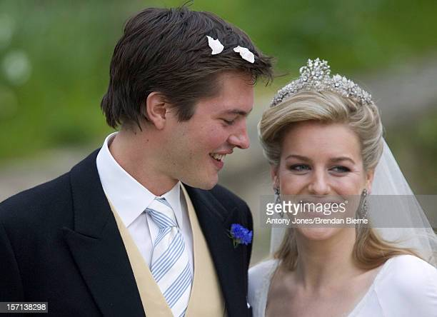The Wedding Of Laura Parker Bowles Harry Lopes At St Cyriacs Church Lacock Wiltshire