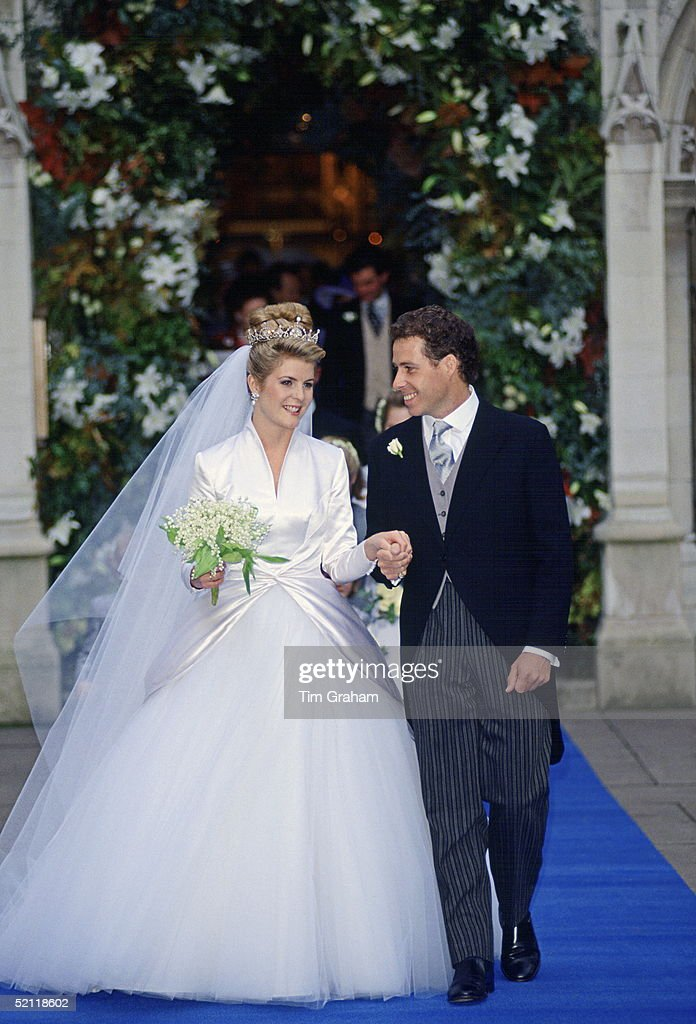 The Wedding Of Lord David Linley To Serena Stanhope In London
