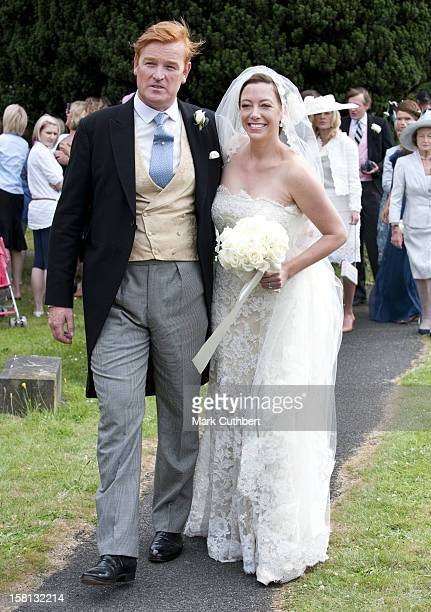 The Wedding Of Mark Dyer And Amanda Kline At St Edmund'S Church Crickhowell Powys In Wales