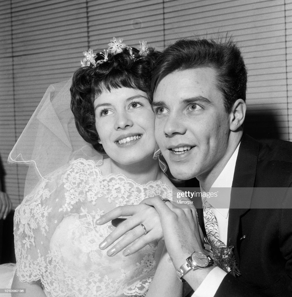 The Wedding of Marty Wilde and Joyce Baker : News Photo