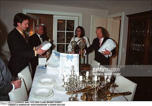 the wedding of Nana Mouskouri in Geneva gift