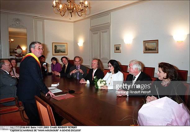 The wedding of 'Nana Mouskouri' in Geneva mayor
