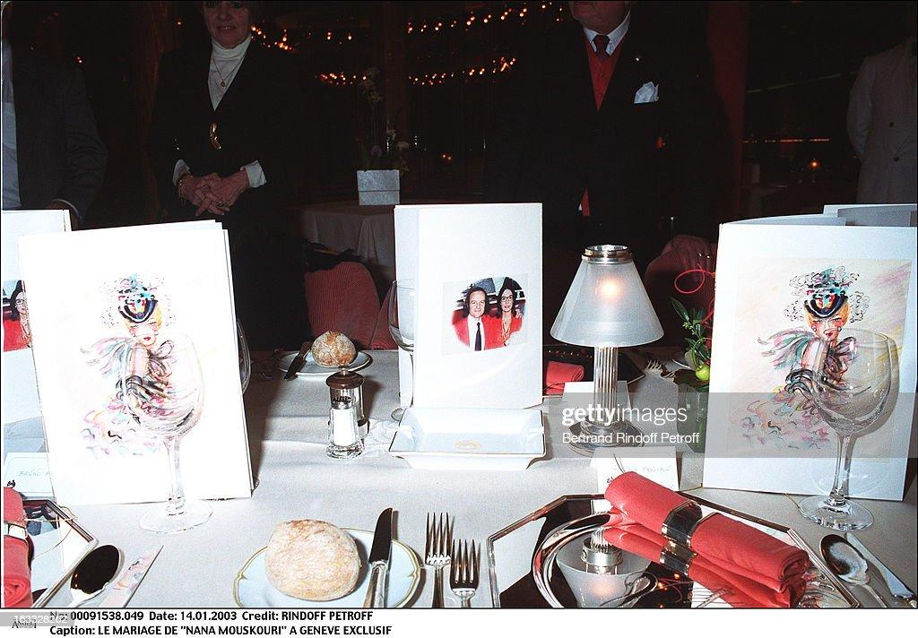 Nana Mouskouri's Wedding : ニュース写真