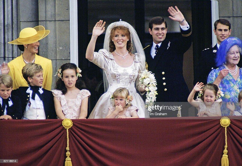 Andrew And Sarah Wedding : ニュース写真