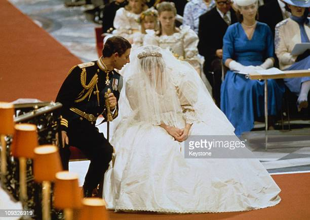 The Wedding Of Prince Charles And Lady Diana Spencer At St Paul S Cathedral In London 29th