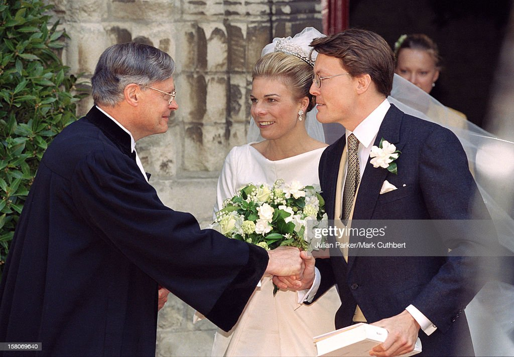 Prince Constantijn & Princess Larentien Royal Wedding : News Photo