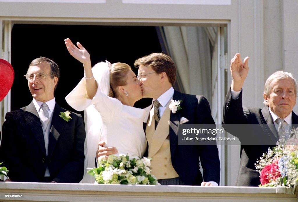 Prince Constantijn & Princess Larentien Royal Wedding : News Photo