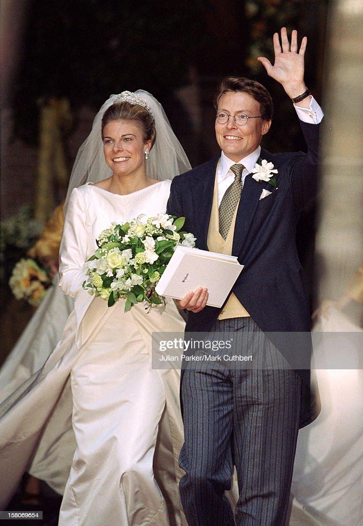Prince Constantijn & Princess Larentien Royal Wedding : Fotografia de notícias