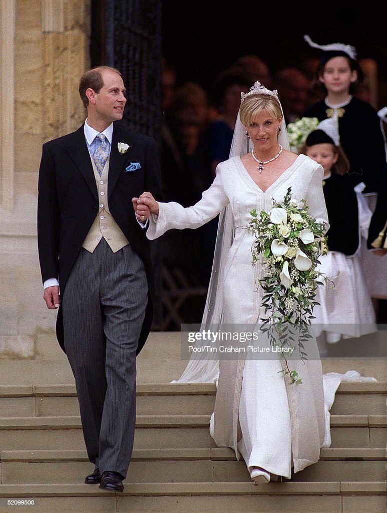 The Wedding Of Prince Edward And Sophie Rhys-jones.