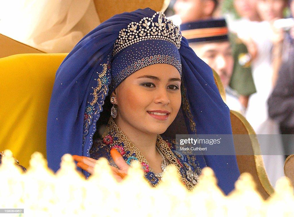 The Wedding Of The Crown Prince Of Brunei Darussalam & Princess Dayangku Sarah Binti Pengiran Salleh Ab Rahaman. : News Photo