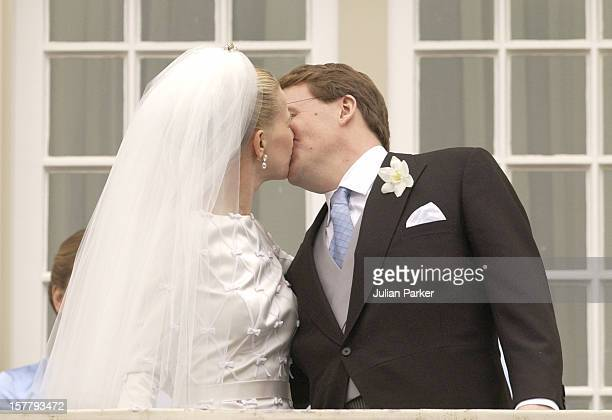 The Wedding Of Prince Johan Friso Of Holland And Ms Mabel Wisse Smit, On The Balcony Of The Noordeinde Palace.