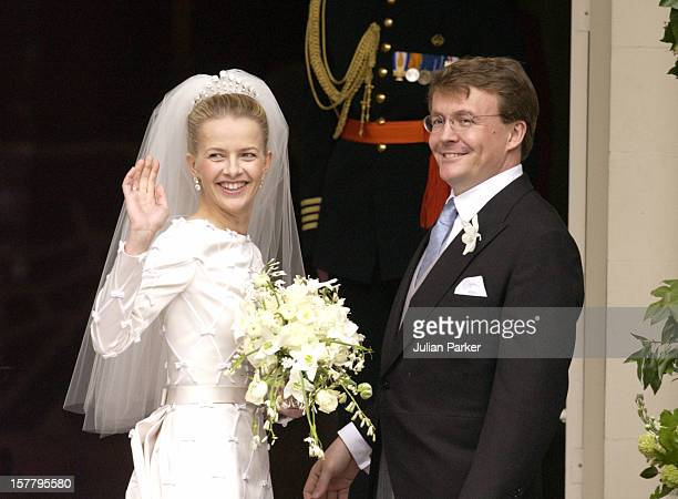 The Wedding Of Prince Johan Friso Of Holland And Ms Mabel Wisse Smit, At The Noordeinde Palace.