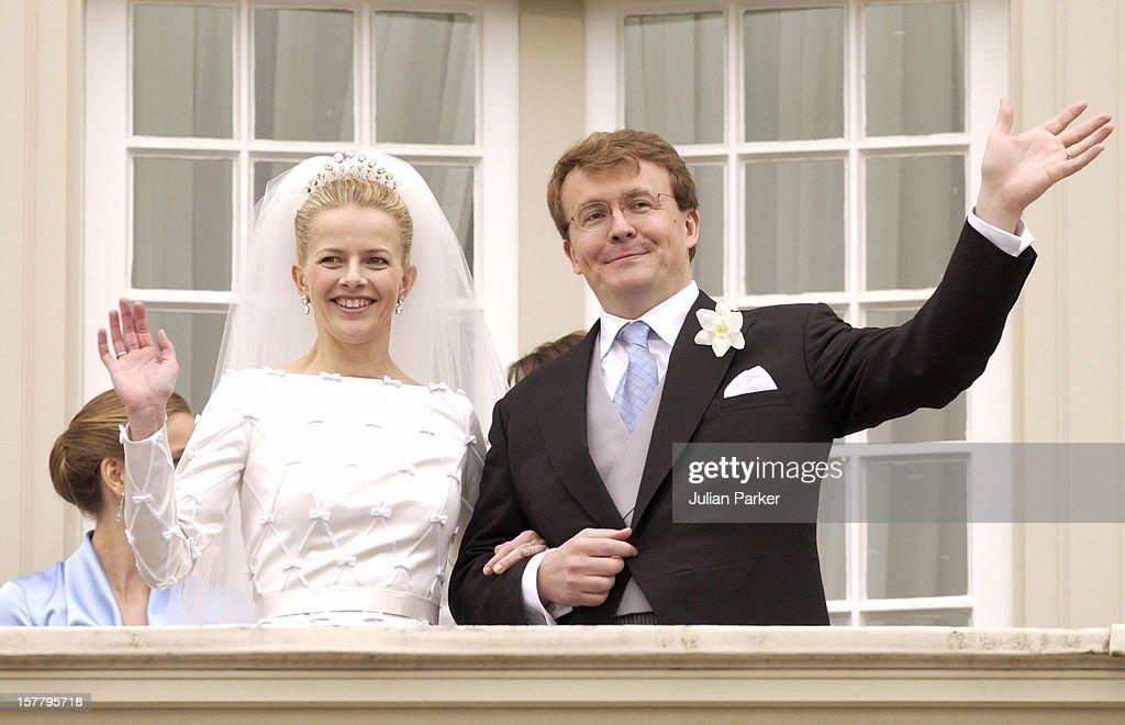 Wedding Of Prince Johan Friso & Mabel Wisse Smit : News Photo