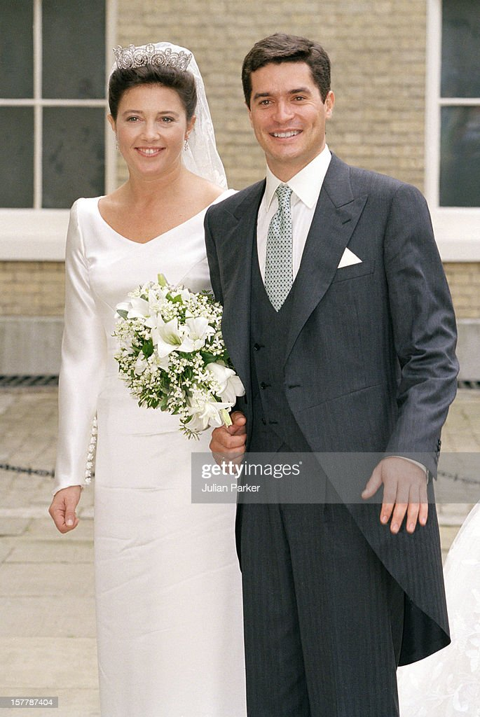 Greek Royal Wedding : News Photo