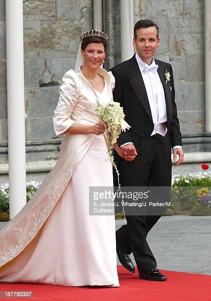 The Wedding Of Princess Martha Louise Of Norway And Ari Behn In Trondheim