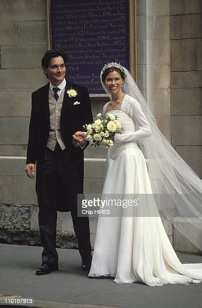 The wedding of SArmstrongJones and DChatto in United Kingdom on July 14 1994