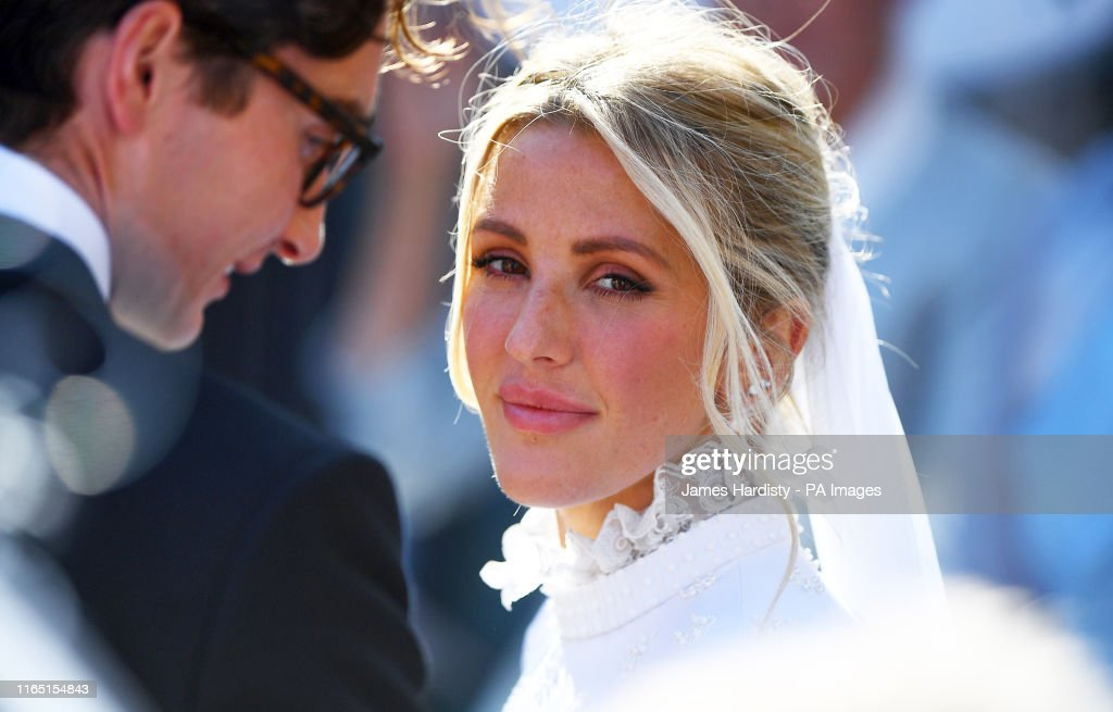 Ellie Goulding wedding : News Photo