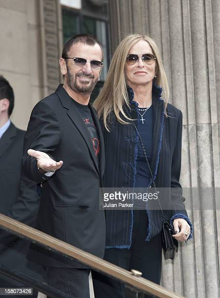 The Wedding Of Sir Paul Mccartney To Nancy Shevell At Old Marylebone Town Hall Register OfficeRingo Starr And Wife Barbara Attend