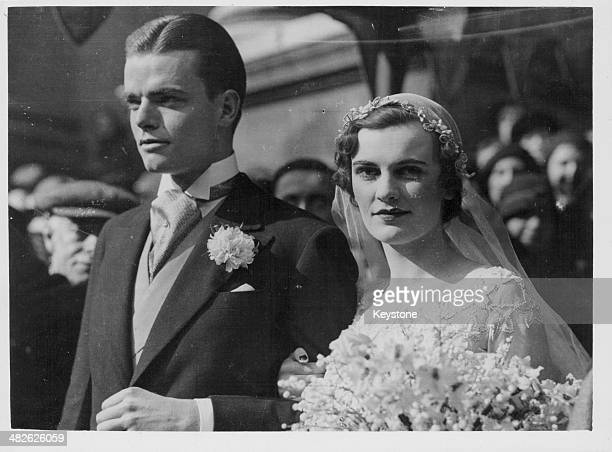 The wedding of the Duchess of Argyll and Charles Sweeny 1933