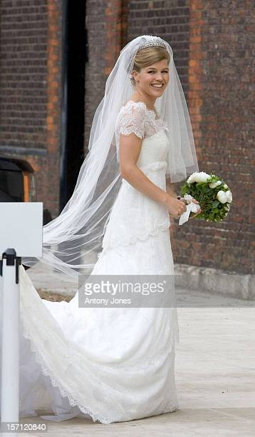 The Wedding Of Tom Aikens Amber Nuttall At The Royal Hospital Chelsea In London