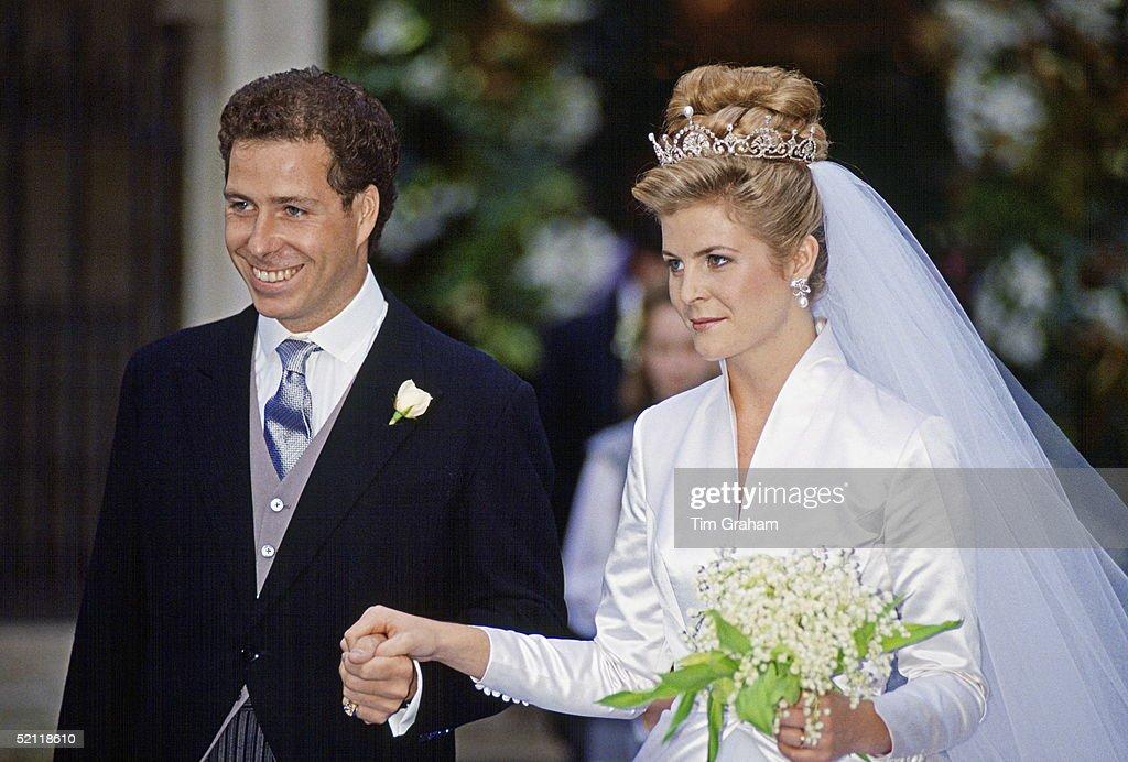 Lord Linley Wedding : News Photo