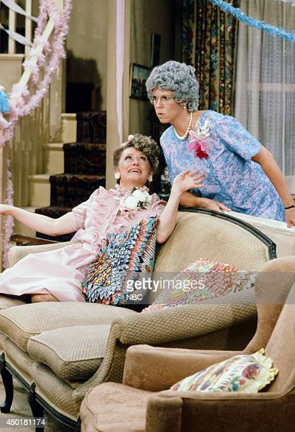 S FAMILY 'The Wedding Part 1' Episode 3 Pictured Rue McClanahan as Aunt Fran Crowley Vicki Lawrence as Thelma 'Mama' Crowley Harper
