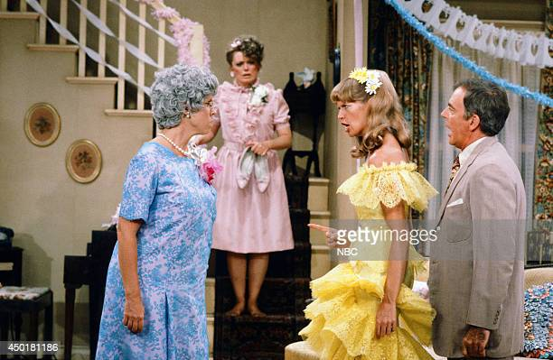 S FAMILY 'The Wedding Part 1' Episode 3 Pictured Vicki Lawrence as Thelma 'Mama' Crowley Harper Rue McClanahan as Aunt Fran Crowley Dorothy Lyman as...