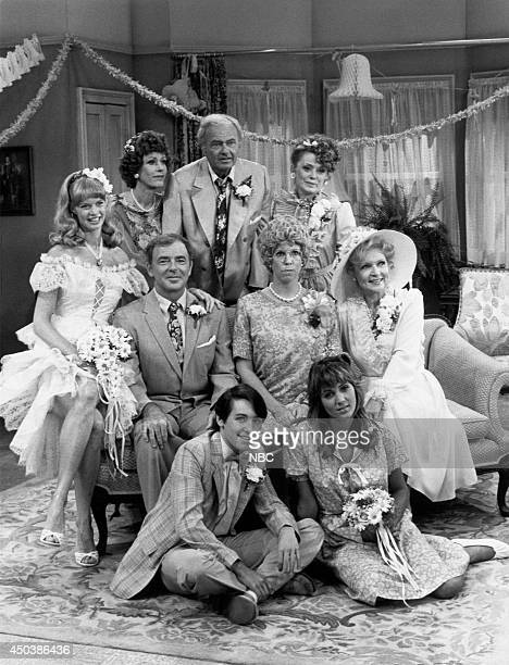 S FAMILY 'The Wedding Part 2' Episode 4 Pictured Carol Burnett as Eunice Higgins Harvey Korman as Ed Higgins Rue McClanahan as Aunt Fran Crowley...