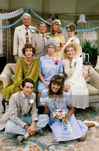 S FAMILY 'The Wedding Part 2' Episode 4 Pictured Harvey Korman as Ed Higgins Ken Berry as Vinton Harper Dorothy Lyman as Naomi Oates Harper Rue...