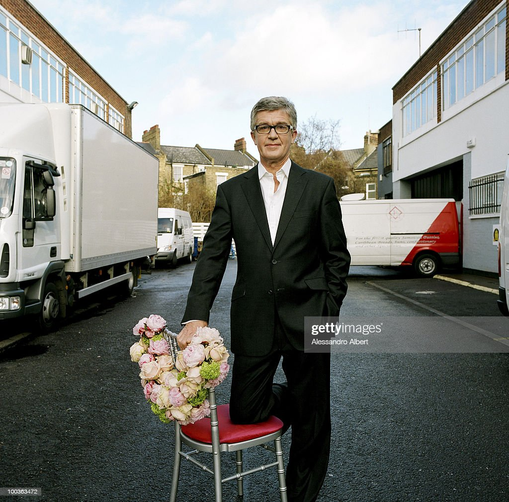 The wedding planner Johnny Roxburgh of the agency The Admirable Crichton poses for a portraits session on December 12, 2007 in London, England