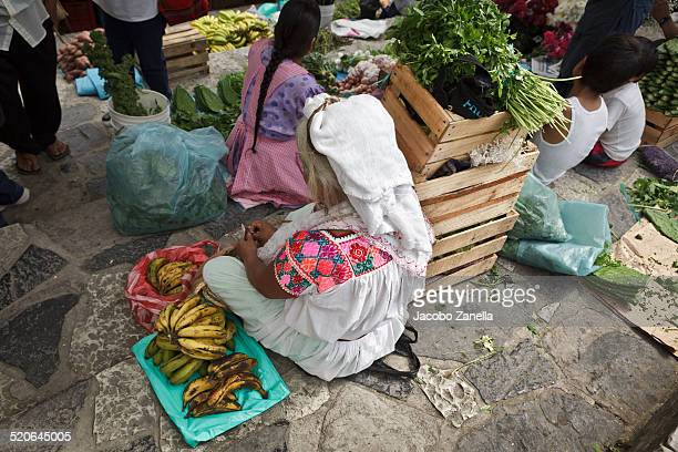 The weekend market in Cuetzalan, Mexico