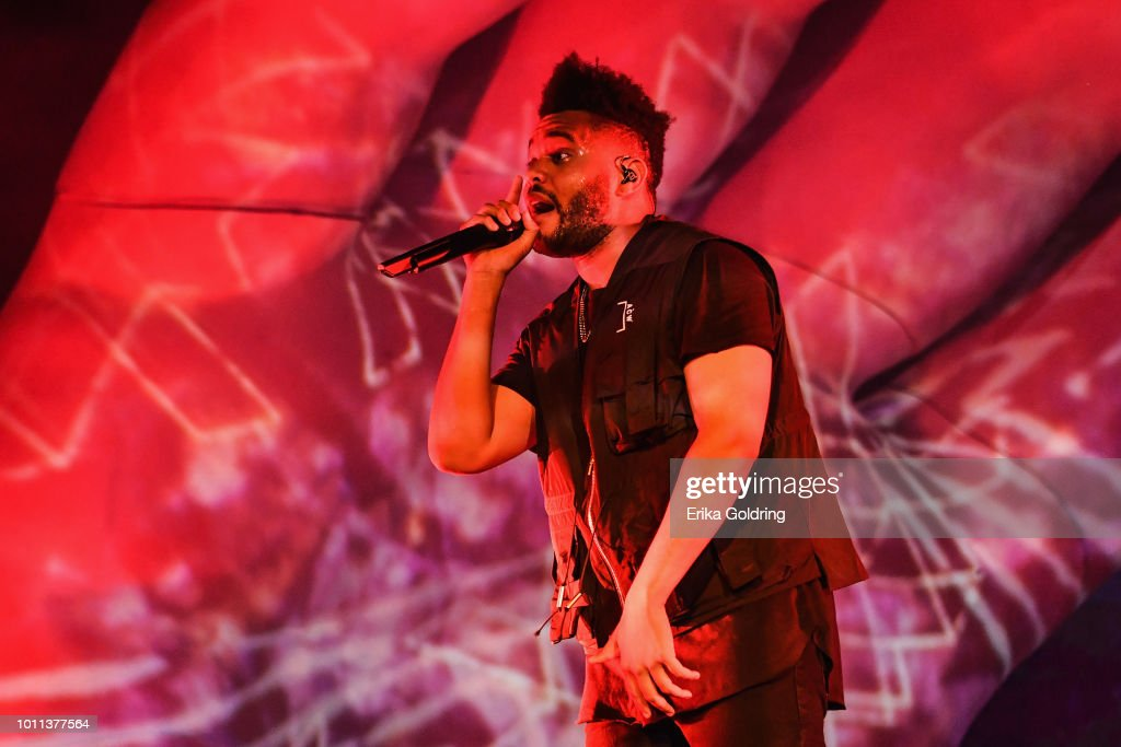 the-weeknd-aka-abel-tesfaye-performs-during-lollapalooza-2018-at-on-picture-id1011377564